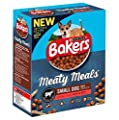 Bakers Meaty Meals Small Dog Food Beef, 1 kg - Pack of 4 by Bakers