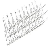 AHGAHG 5M Pack 10 Anti Stainless Steel Bird Spikes Pigeon Scarer Wall Fence UV-Proof