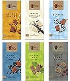 Ichoc Deutsche Bio Vegan Schokolade Mix Pack (6er Pack 6 x 80g)