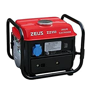 ZEUSS ZZ950 Groupe Electrogène Essence, 720 W