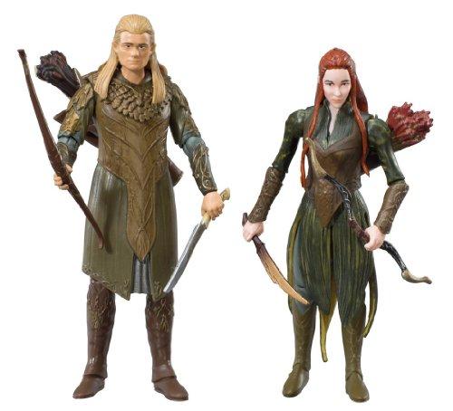 Imagen 3 de The Hobbit BD16014 - Figuras de Legolas y Tauriel