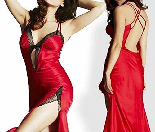 Bluelans - Chemise de nuit - Femme red