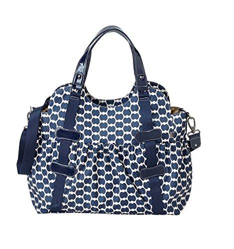 oioi-eclipse-navy-gummizug-bedruckt-handtasche-blau