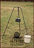 Großes Dreibein, handgeschmiedet, ca. 155cm von ULFBERTH - Kochgestell für Grill, Pfanne, Kessel und Kochtopf