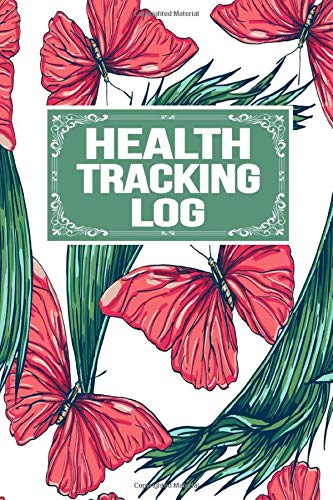 Health Tracking Log: Emergency Log Sleep Medication Meals Symptoms Triggers Mood Reactions Thoughts Exercise Tracker Notebook Organizer