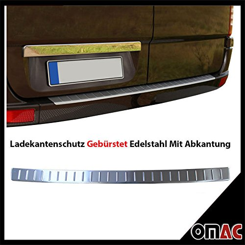 Ladekantenschutz V2A Edelstahl Für Mercedes Sprinter W906 / VW Crafter Gebürstet (Mercedes Sprinter Oem-teile)