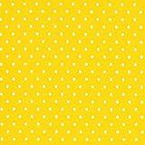 Fabulous Fabrics Baumwolljersey Kleine Punkte gelb —