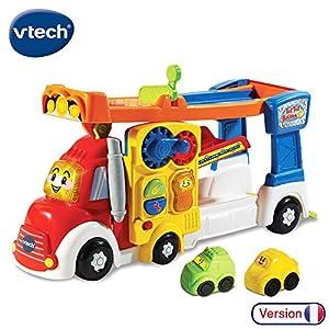 VTech Tut Tut Bolides Super Camion Piste Zig-Zag - Juegos educativos (Multicolor, Niño/niña, 1 año(s), 5 año(s), Francés, AAA)