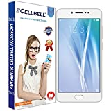 CELLBELL® Tempered Glass Screen Protector For Vivo V5 With FREE Installation Kit