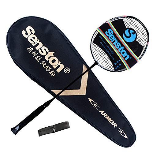 Senston N80 100% Grafito Raqueta bádminton Unisex,Badminton