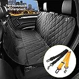 Morpilot Housse de siège auto de chien universelle(147cm x 137cm)/ Housse de protection de banquette arrière de voiture imperméable pour...
