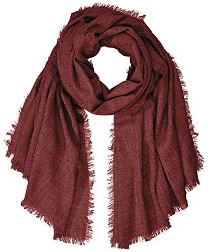 PIECES Damen Schal Pcjusta Long Scarf, Rot (Port Royale Port Royale), One Size (Herstellergröße:ONE SIZE) (Port Schal)