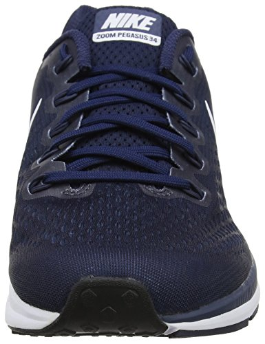 Nike 880555 - Chaussures de Running - Homme - Multicolore (Obsidian/White/Neutral Indigo)