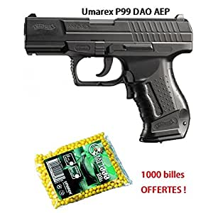 Airsoft WALTHER - P99 DAO - 0.5J - AEP - 6mm