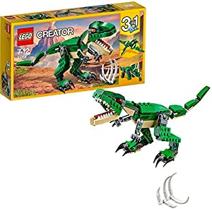 LEGO Creator - Grandes Dinosaurios, juguete 3 en 1 con el que puedes construir muñecos de un Triceratops, un Pterodactilo o un T-Rex (31058)