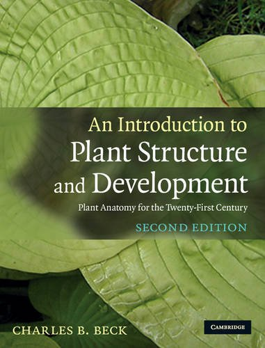 An Introduction to Plant Structure and Development 2nd Edition Hardback