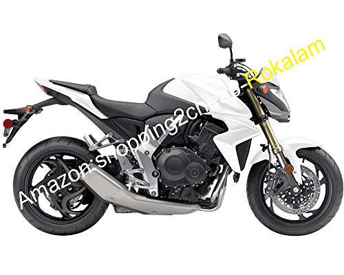 Ensemble de carénage pour moto CB1000R 08-15 CB1000 R 2008 2009 2010 2011 2012 2013 2014 2015 CB 1000R blanc gris