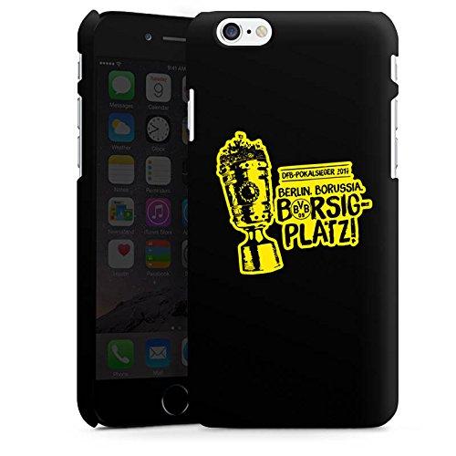 Apple iPhone 6s Silikon Hülle Case Schutzhülle Borussia Dortmund Pokalsieger BVB Premium Case matt