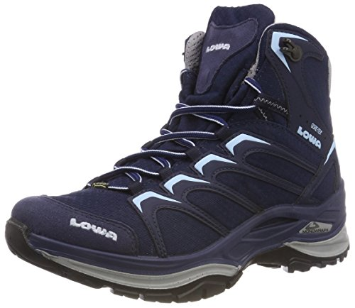 Lowa Damen Innox GTX MID WS Trekking- & Wanderstiefel, Blau (Navy/Blu Ghiaccio 6917), 39 EU