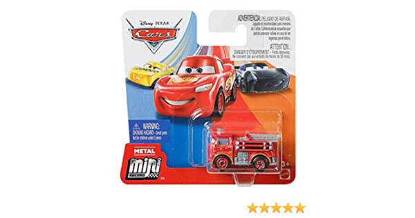 Red Rode Vogel Cars Mattel Disney Pixar Metall Mini Racers 4cm Metallo