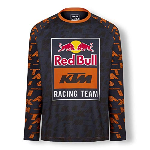Red Bull KTM Mosaic Maglia, Blu Uomo X-Large Jersey, KTM Factory Racing Abbigliamento & Merchandising Ufficiale