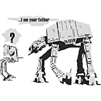 Thorpe Signs Banksy style Star Wars I Am Your Father Wall Sticker Vinyl Decal Art Transfer 3 (Large: 83cm x 58cm)
