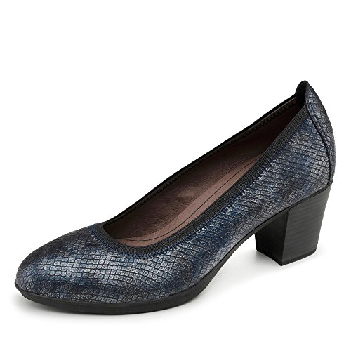 ESCARPINS TAMARIS 22406-27 Bleu - NAVY STRUCTURE
