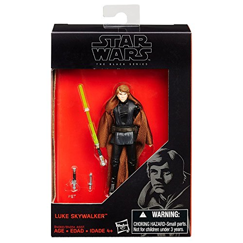 Star Wars The Force Awakens Luke Skywalker Figura% ¶ ýï% 9.52cm% ¶ ýï% Black Series