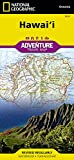 National Geographic Hawaii Adventure Travel Map: Travel Maps International Adventure Map