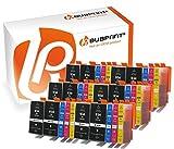 Bubprint 30 Druckerpatronen kompatibel für HP 934XL 935XL für OfficeJet 6800 Series 6820 6822 6825 Pro 6200 Series 6230 6235 6239 6830 6835 BK C M Y