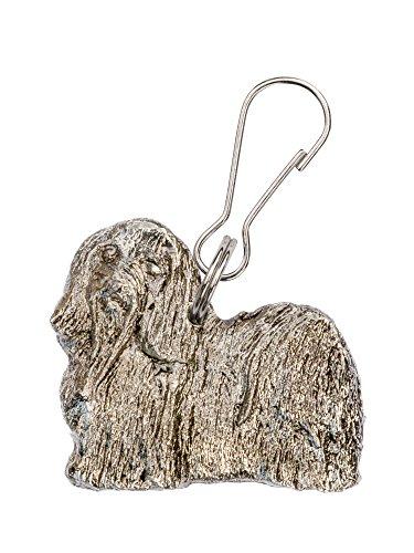 Havaneser Hergestellt in U.K. Kunstvolle Hunde- Reißverschlußanhänger (Zipper pull) Sammlung (Havaneser Hund Spielzeug)