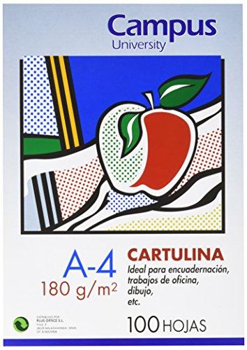 CAMPUS Universität 220145Cover für Einband aus Pappe 180g, 100Stück, A4, dunkelblau (Universität 100% Seide)