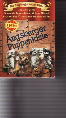 Die Augsburger Puppenkiste - Die Augsburger Katzen-Kiste (5 DVDs)