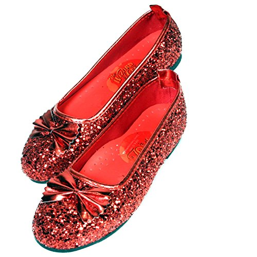 THE WIZARD OF OZ ~ Dorothy Ruby Slippers - Kids Accessory 5 - 7 years