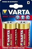 Varta - 4720101402 - Max Tech Piles Alcalines - D LR20 X 2