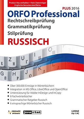 ORFO Professional Plus 2016 Rechtschreib- und Grammatikprüfung Russisch (ORFO / Rechtschreib- und Grammatikprüfung Russisch)