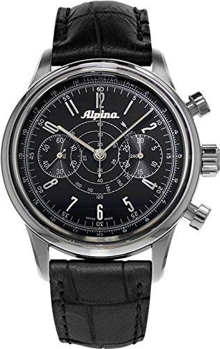 Alpina Geneve Alpina 130 Heritage Pilot Chronograph AL-860G4H6 Reloj para hombres Alpina Rotor
