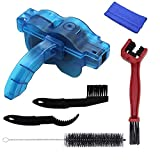 SHWEAPY Bike Machine Brushes Scrubber Wash Tool Kit Mountaineer Bicycle Chain Cleaner Tool Kits,6 Pieces