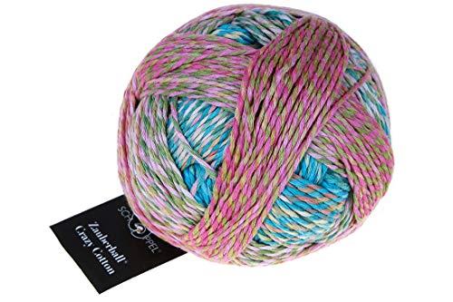 Schoppel-Wolle Knitting Yarn, 100% Organic Cotton, Multicoloured, 100g