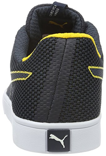 Puma Rbr Wings Vulc, Baskets Basses Mixte Adulte Bleu - Blau (total eclipse-total eclipse-spectra yellow 01)
