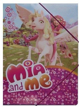 Mia and Me Schulranzen Set 19tlg. Sporttasche, Schultüte 85cm, Regenschirm MMBL8251-GR - 4