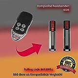 Verano 4026tx03–868–4compatible emisor manual, para emisor, 868.8MHz KeyFob