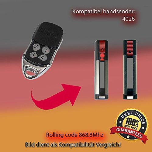 Sommer 4026 TX03-868-4 Kompatibel Handsender, Ersatz Sender, 868.8 MHz keyfob