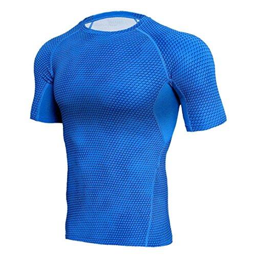 T-shirts Sport & Unterhaltung Ordentlich 2019 Neue Sommer Hemd Baumwolle Gym Fitness Männer T-shirt Marke Kleidung Sport T-shirt Männlichen Druck Kurzarm Lauf T Hemd Einfach Zu Reparieren