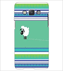 PrintDhaba Cartoon D-4421 Back Case Cover for SAMSUNG GALAXY E5 (Multi-Coloured)