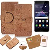 K-S-Trade 360° Cover cork Case for Huawei P8 Lite 2017