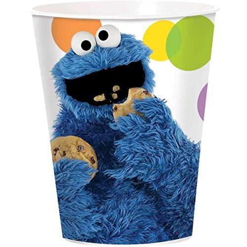 Re-Usable Plastic Cup, 16-Ounce (Sesame Street Halloween Kostüme)