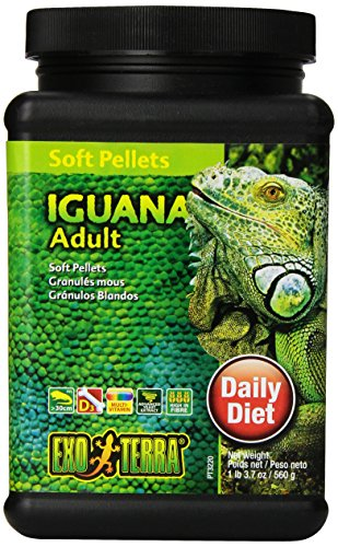 Exo Terra Soft Pellets Futter für junge Leguane 560g