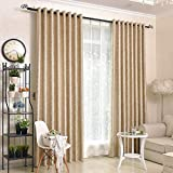 Lianaic Vorhang Blackout Vorhänge Abgeschlossen Einfachen Modernen Wohnzimmer Vorhang Schlafzimmer Sonnencreme Wärmedämmung Vorhänge W66*90(167 * 228Cm)