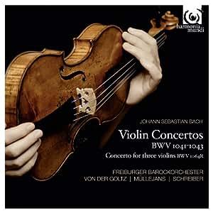 J.S. Bach: Violin Concertos BWV 1041-43, Concerto for three violins BWV 1064R